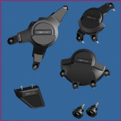 Honda CBR1000 08- GB pakke, inkl: motordeksel, bobbins, haifinne-0