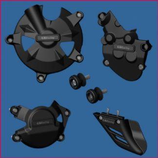 ZX10R 08-10 GB pakke, inkl: motordeksel, bobbins, haifinne-0