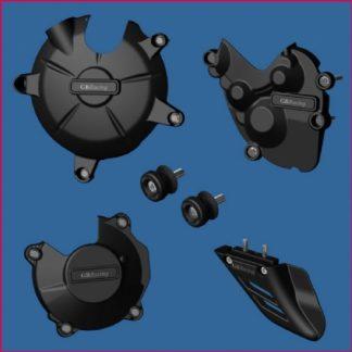 ZX6R 09- GB pakke, inkl: motorsdeksel, bobbins, haifinne-0