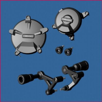 KTM RC8- GB pakke motorbeskyttelse, bobbins,kræsjpuckar-0