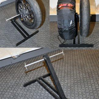 Hjulstativ for 2 hjul-0
