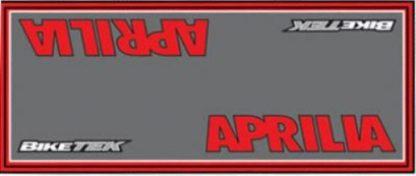 Garasje/Miljø-matte med Aprilia logo-0