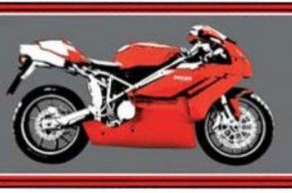 Garasje/Miljø-matte med Ducati bilde-0