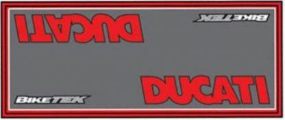 Garasje/Miljø matte med Ducati logo-0