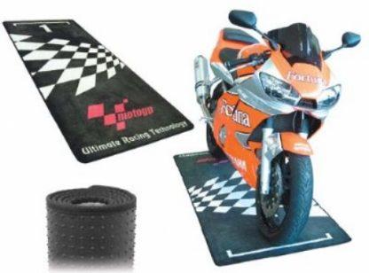 Moto GP garasje/Miljø-matte MGPMAT01-0