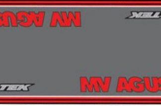 Garasje/Miljø- matte med MV Agusta logo-0
