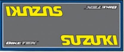 Garasje/Miljø matte med Suzuki logo-0